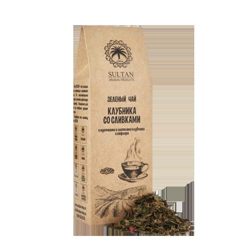 чай Nadin клубника со сливками